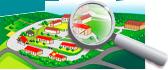 plan d'accès à la ferme les peupliers